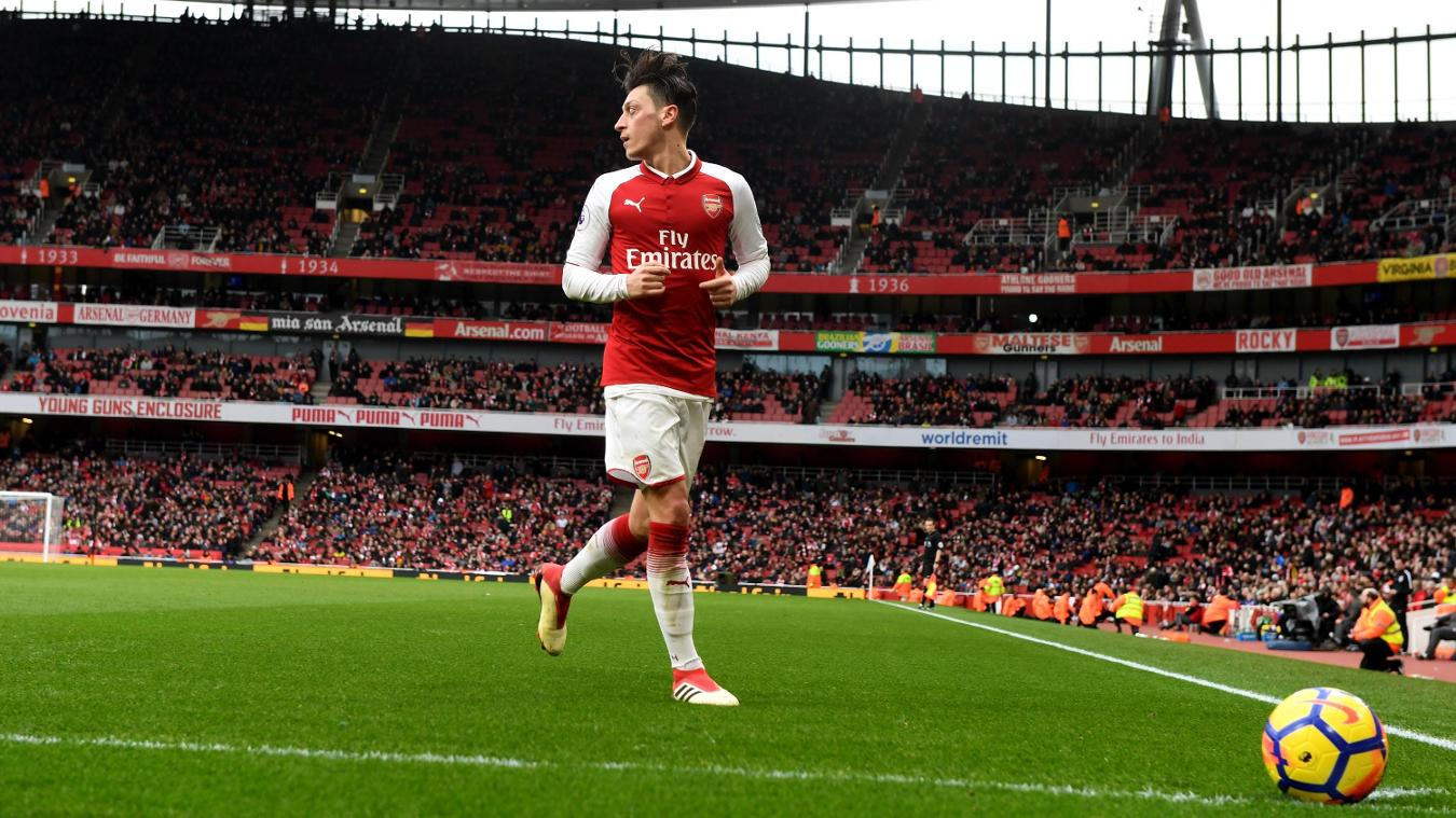 Ozil sets assist pace