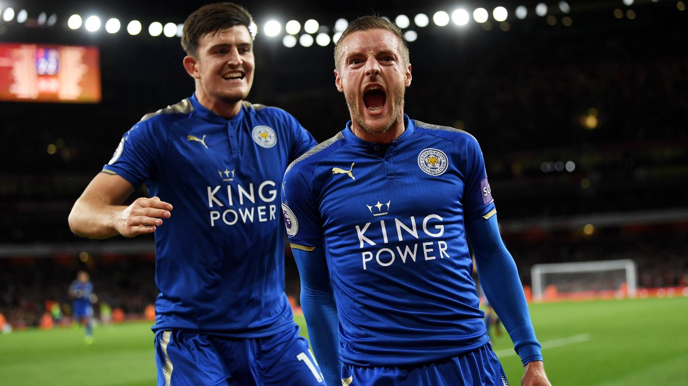 Vardy's 'Big Six' feat