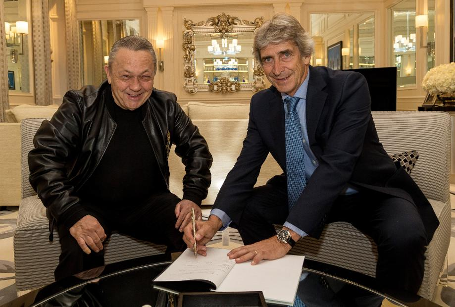 Manuel Pellegrini and David Sullivan, West Ham