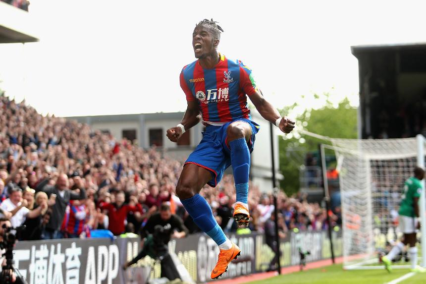 Wifried Zaha, Crystal Palace