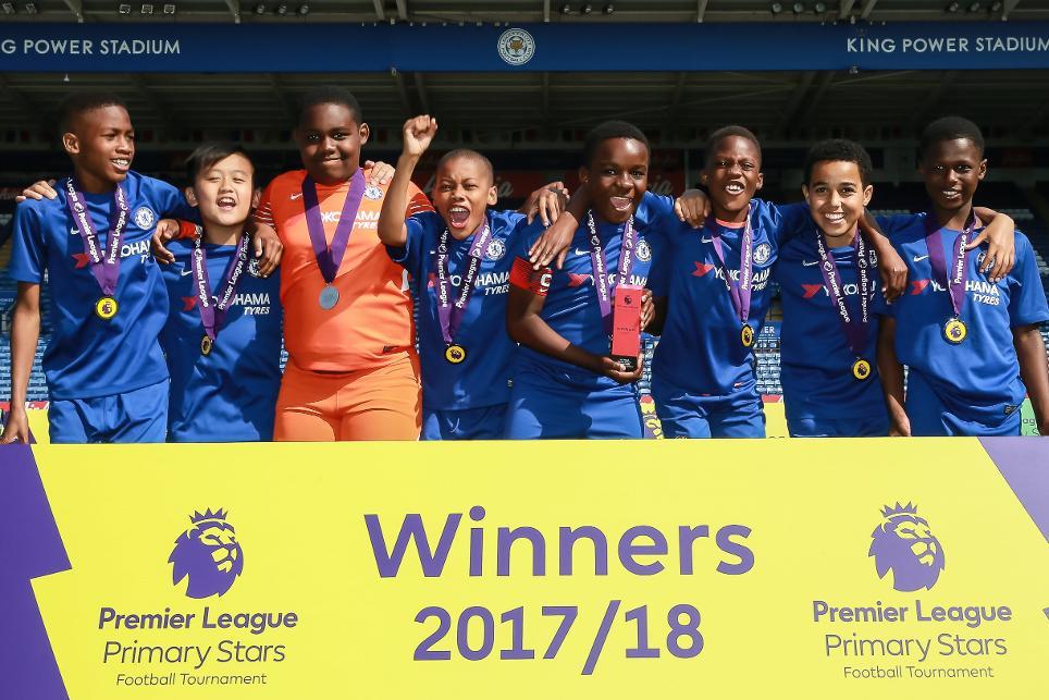 Primary Stars School Tournament, Chelsea U11s Mixed winners