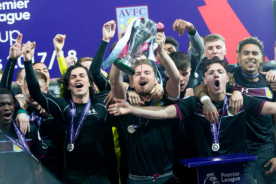 Aston Villa win 2017/18 Premier League Cup