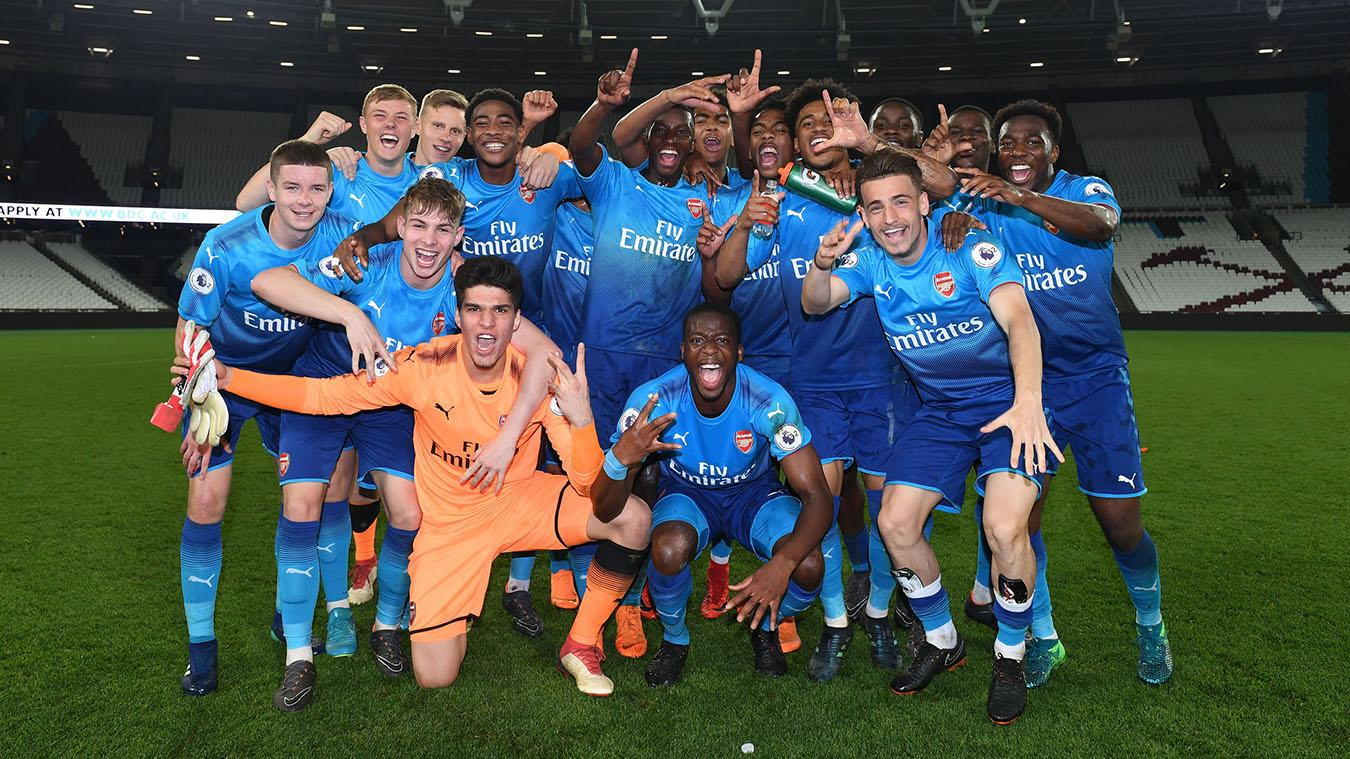 Arsenal win PL2 Division 1 title