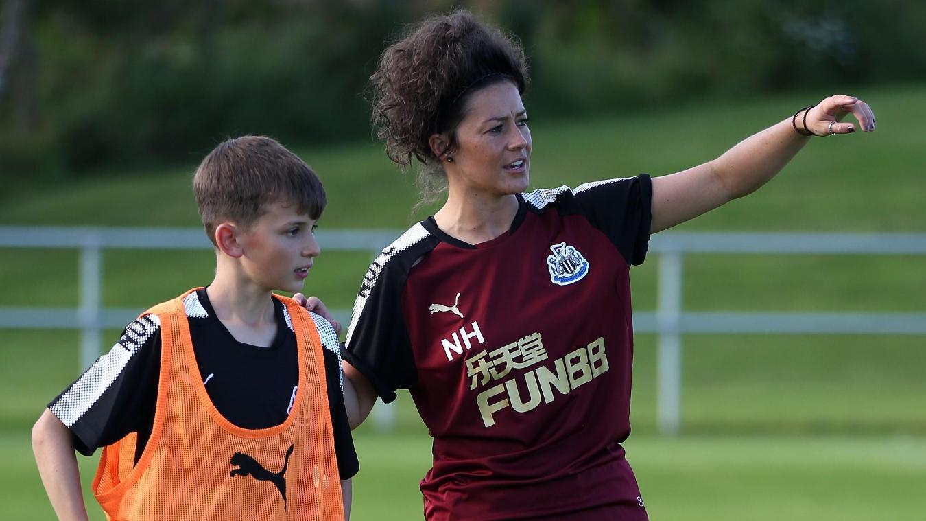 Natalie Henderson, Newcastle United