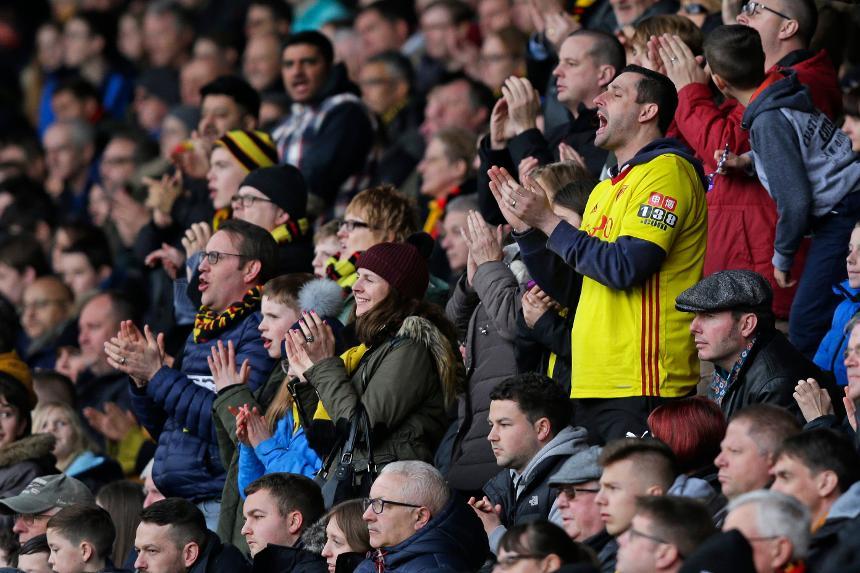Watford fans