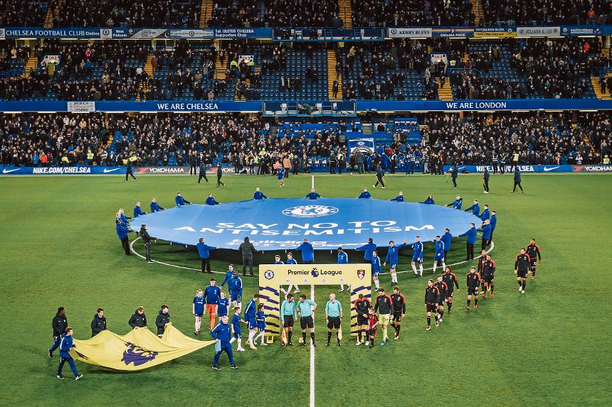Chelsea's 'Say No To Antisemitism' campaign