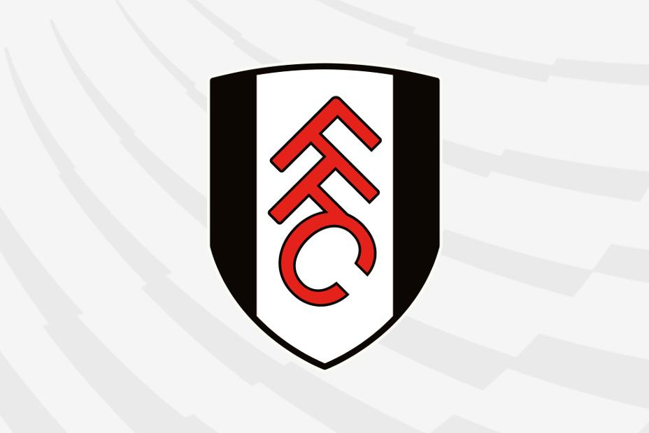 Fulham crest with PL background