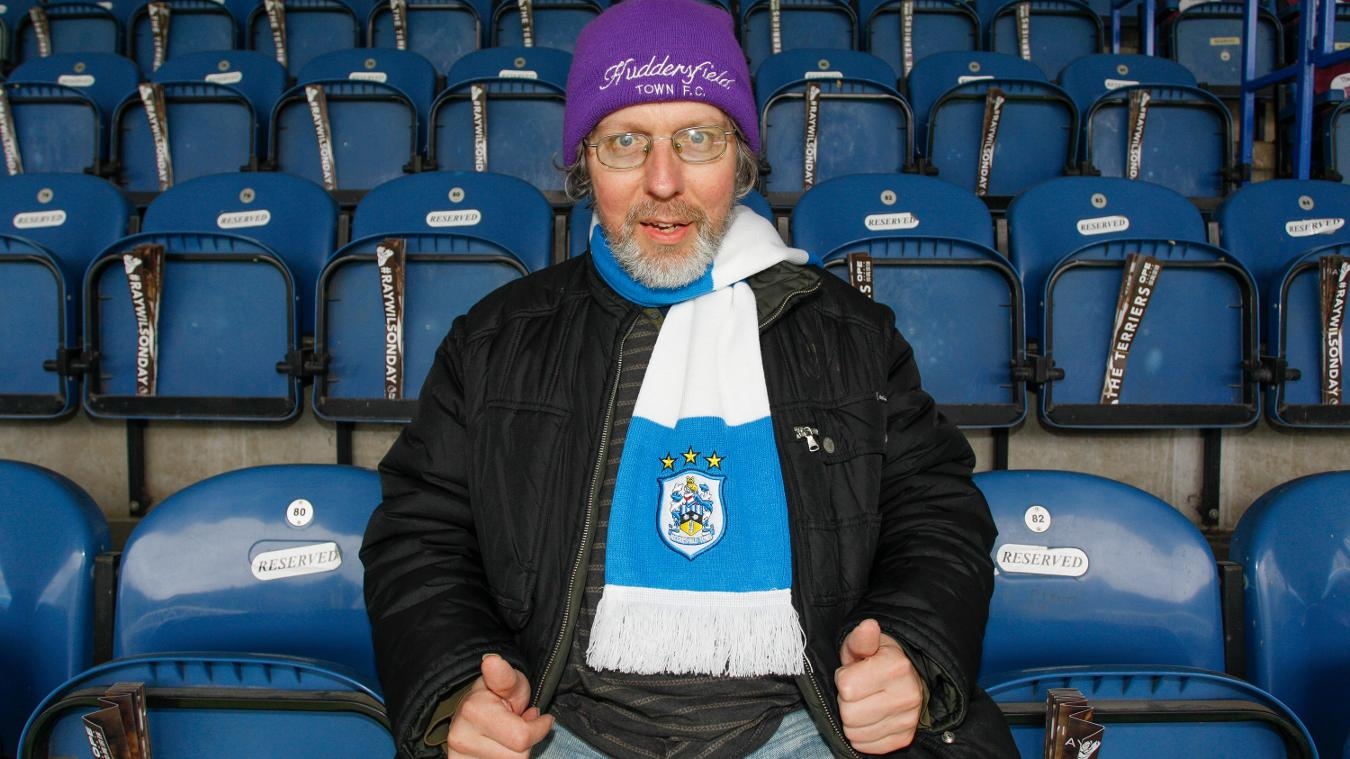 Jeremy King, Huddersfield Town fan