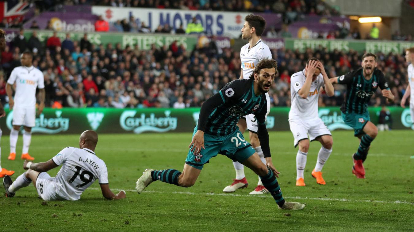 Gabbiadini breaks the hearts of the Swansea faithful