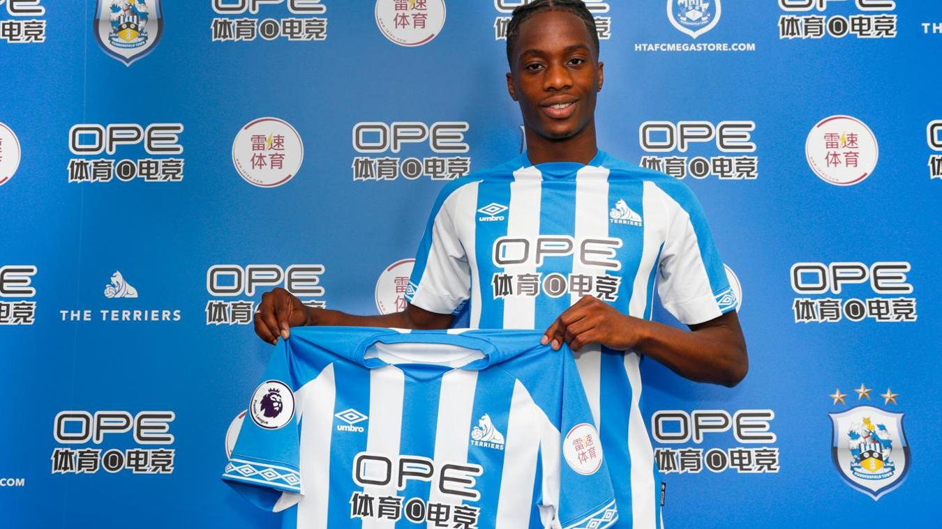 Terence Kongolo, Huddersfield Town