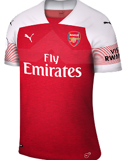 Arsenal home kit, 2018-19