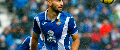 Marco Navarro in action for Espanyol