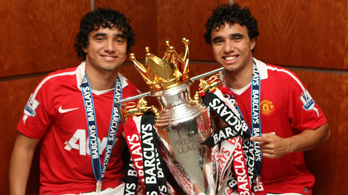 Rafael and Fabio Da Silva, Man Utd
