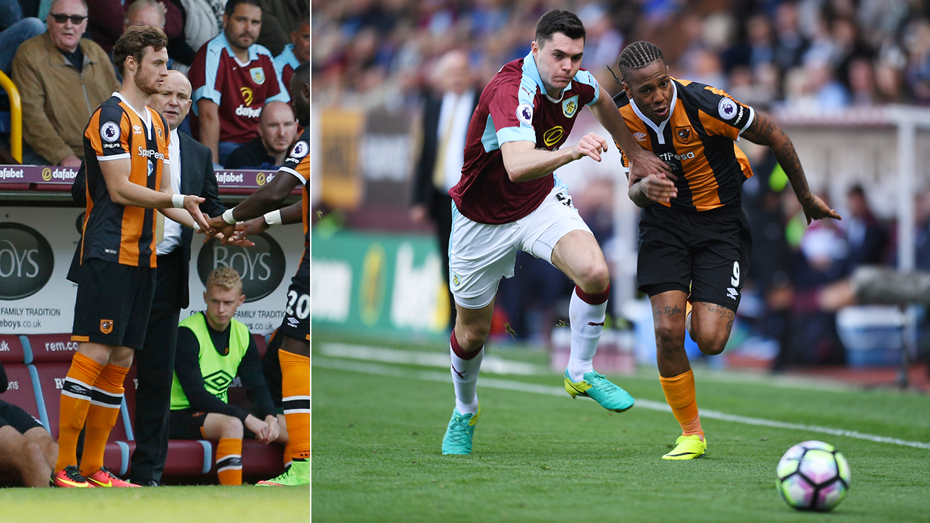 Will and Michael Keane, Hull and Burnley