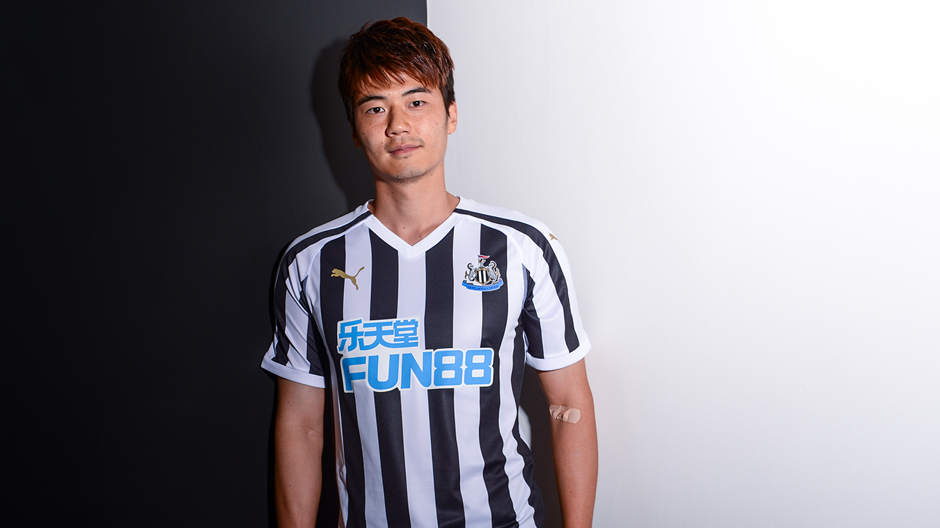 2018 19 premier league kits for Newcastle home