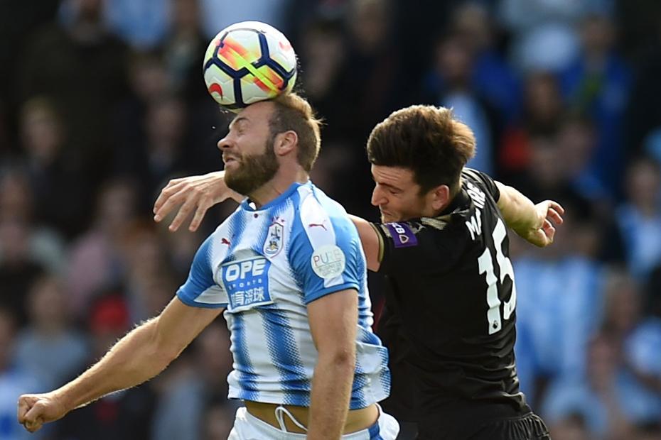 Laurent Depoitre, Huddersfield v Leicester