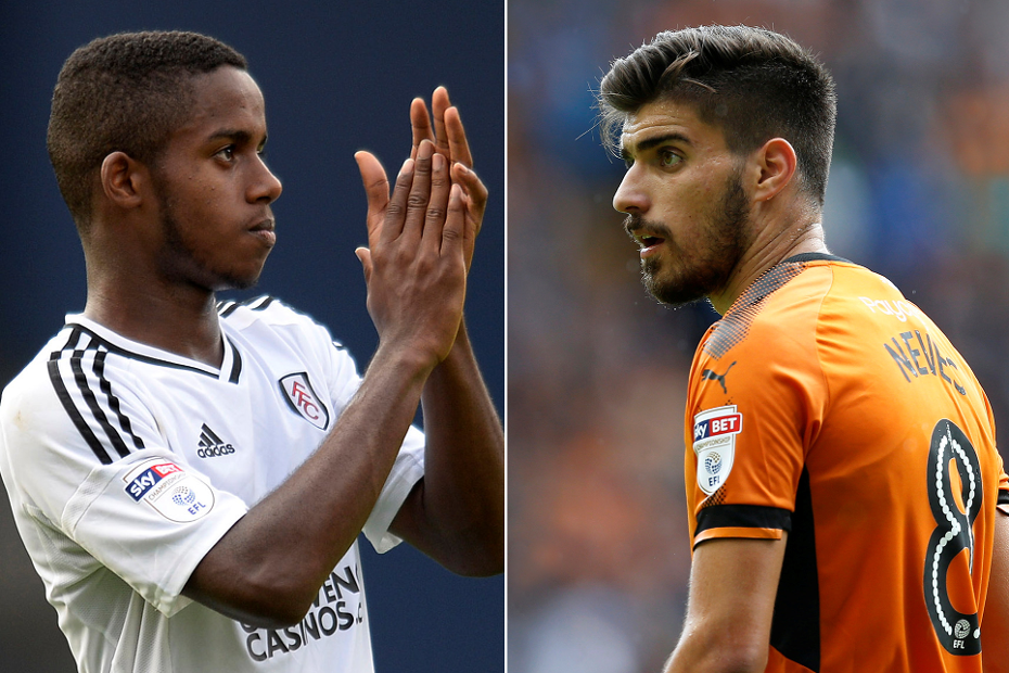 Ryan Sessegnon and Ruben Neves