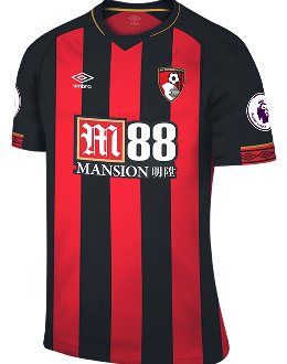 Bournemouth home kit, 2018-19