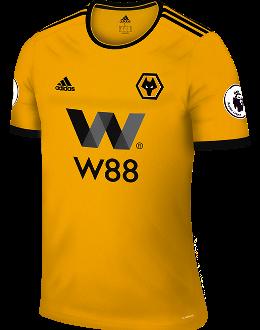 Wolves home kit, 2018-19