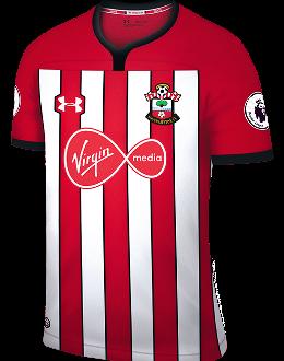 Southampton home kit, 2018-19