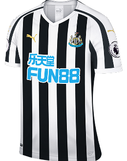 Newcastle home kit, 2018-19