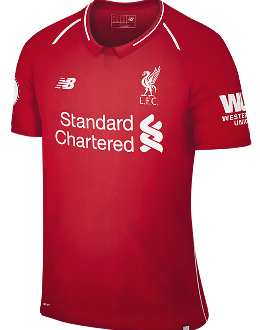 Liverpool home kit, 2018-19