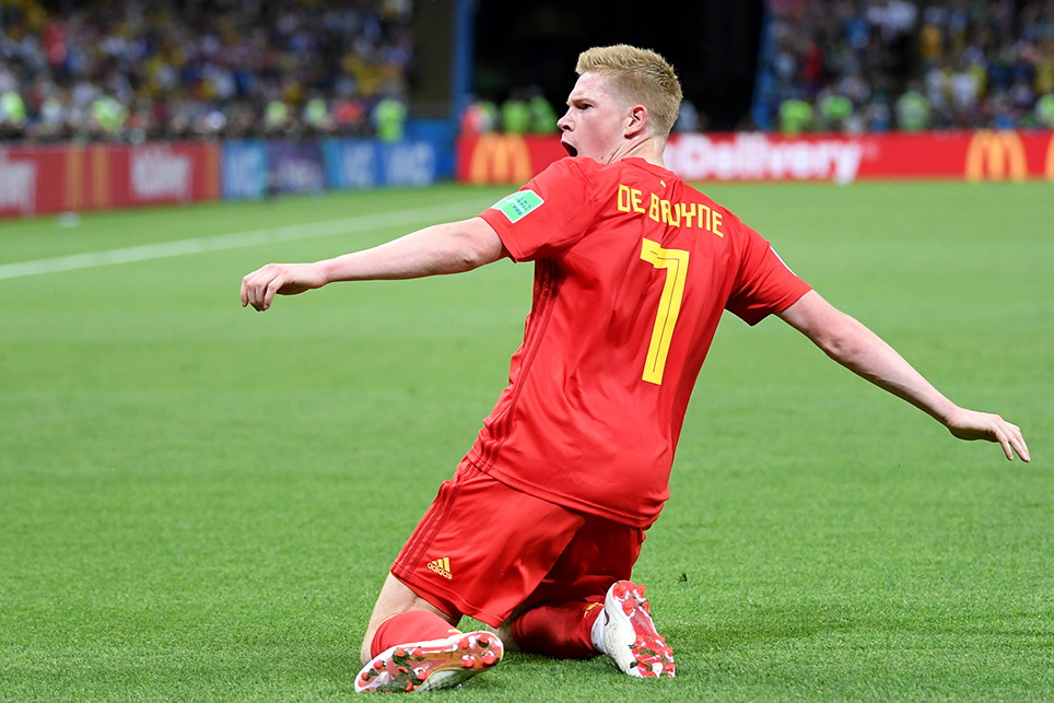 De Bruyne Fires Belgium Into The Semi-finals