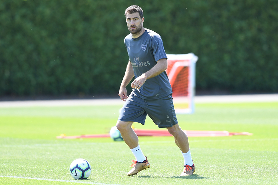cd470a1a899 Powerful Sokratis the first choice at Arsenal