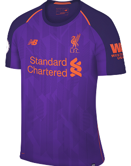 Liverpool away kit, 2018-19