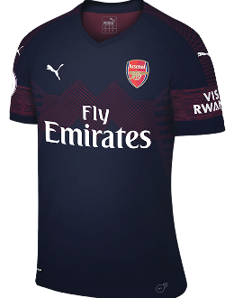 Arsenal away kit, 2018-19