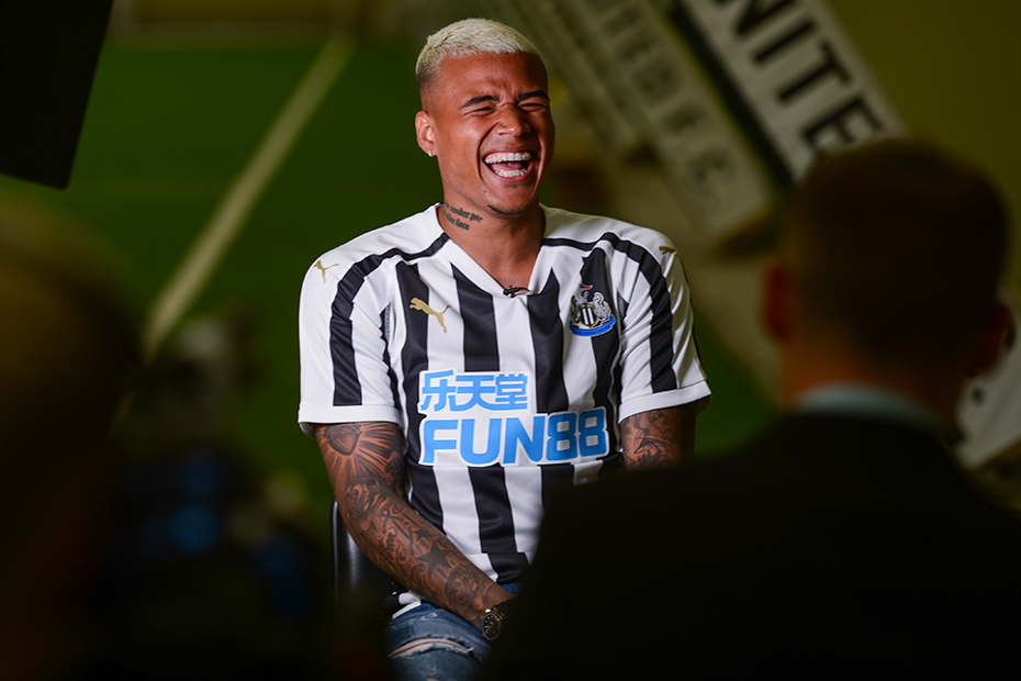 Kenedy joins Newcastle