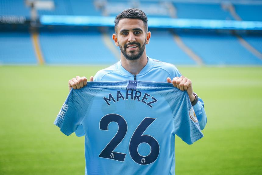 Man City Sign Mahrez From Leicester