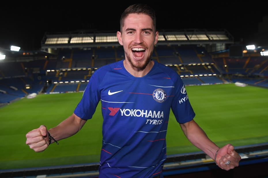 low priced 6847f 3b1af Chelsea sign Jorginho from Napoli