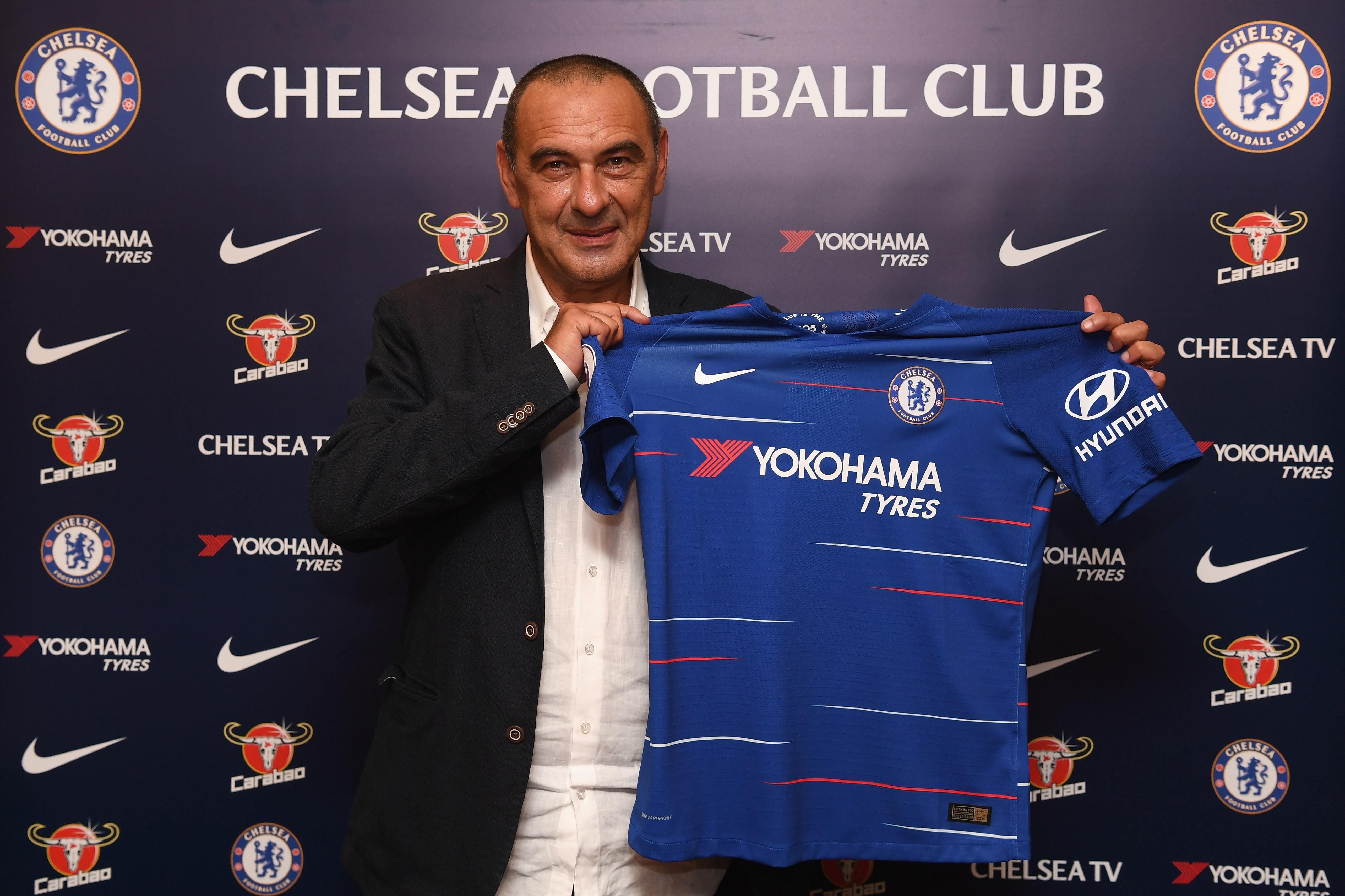 preml.ge - Chelsea appoint Sarri as head coach