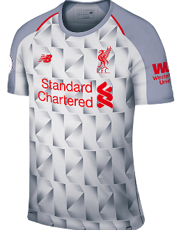 Liverpool Third Kit, 2018-19
