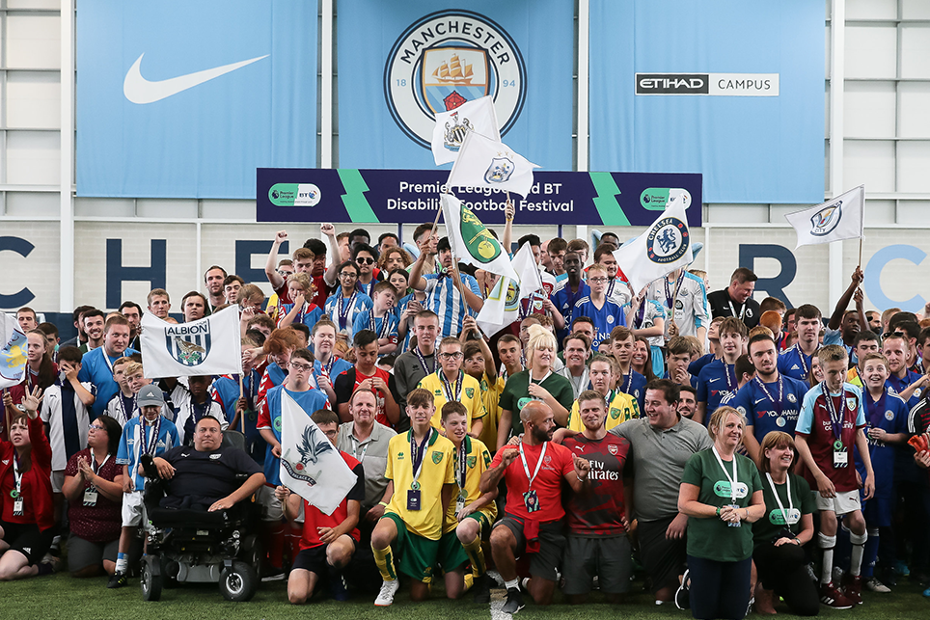 PL/BT Disability Football Festival 2018