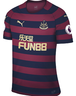 Newcastle away kit, 2018-19