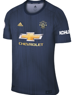 Man Utd third kit, 2018-19