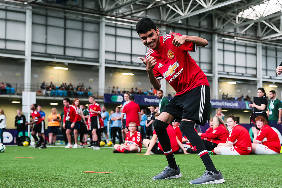 2018 Premier League/BT Disability Football Festival, Manchester United