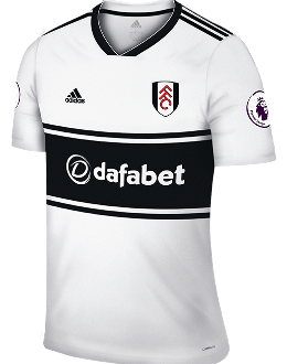 Fulham home kit, 2018-19