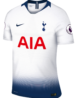 Spurs home kit, 2018-19