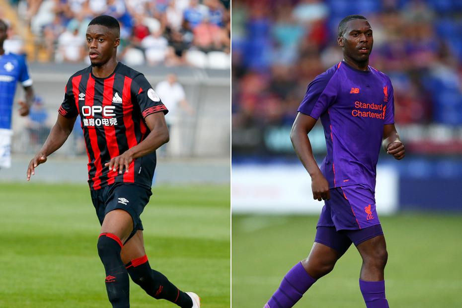 Adama Diakhaby, Huddersfield Town, and Daniel Sturridge, Liverpool