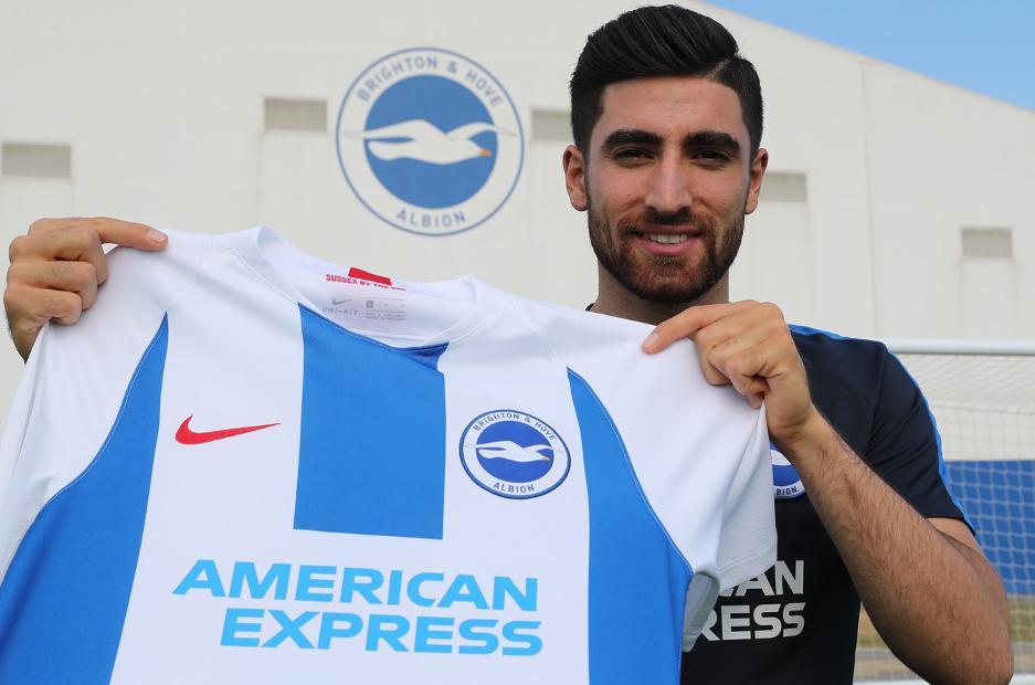 Brighton sign Iran winger Jahanbakhsh 6eb7f514f