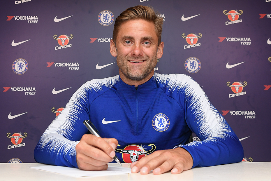 Rob Green signs for Chelsea
