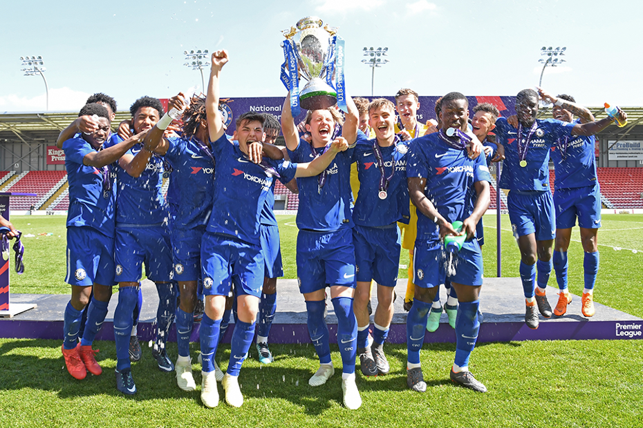 Chelsea win Under-18 Premier League Trophy