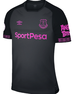 Everton away kit, 2018-19