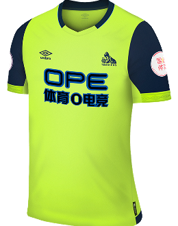 Huddersfield third kit, 2018-19