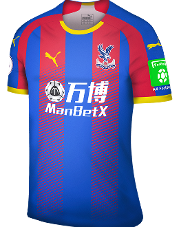Crystal Palace home kit, 2018-19