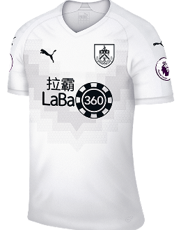 Burnley third kit, 2018-19