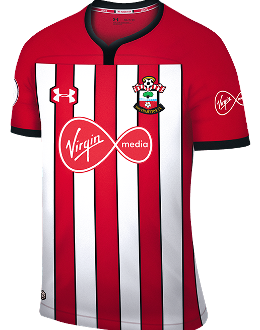 Southampton home kit, 2018-19
